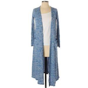 Price drop* LuLaRoe Sarah XS Heathered Blue Ribbed